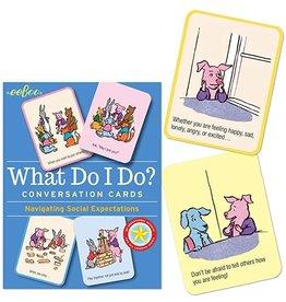 eeBoo What Do I Do? Conversation Flash Cards