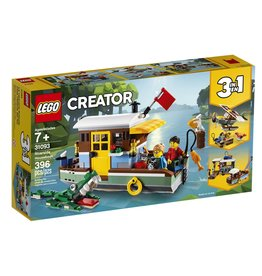 Lego Riverside Houseboat