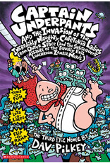 Scholastic Captain Underpants and the Invasion of the Incredibly Naughty Cafeteria Ladies from Outer Space (#3)