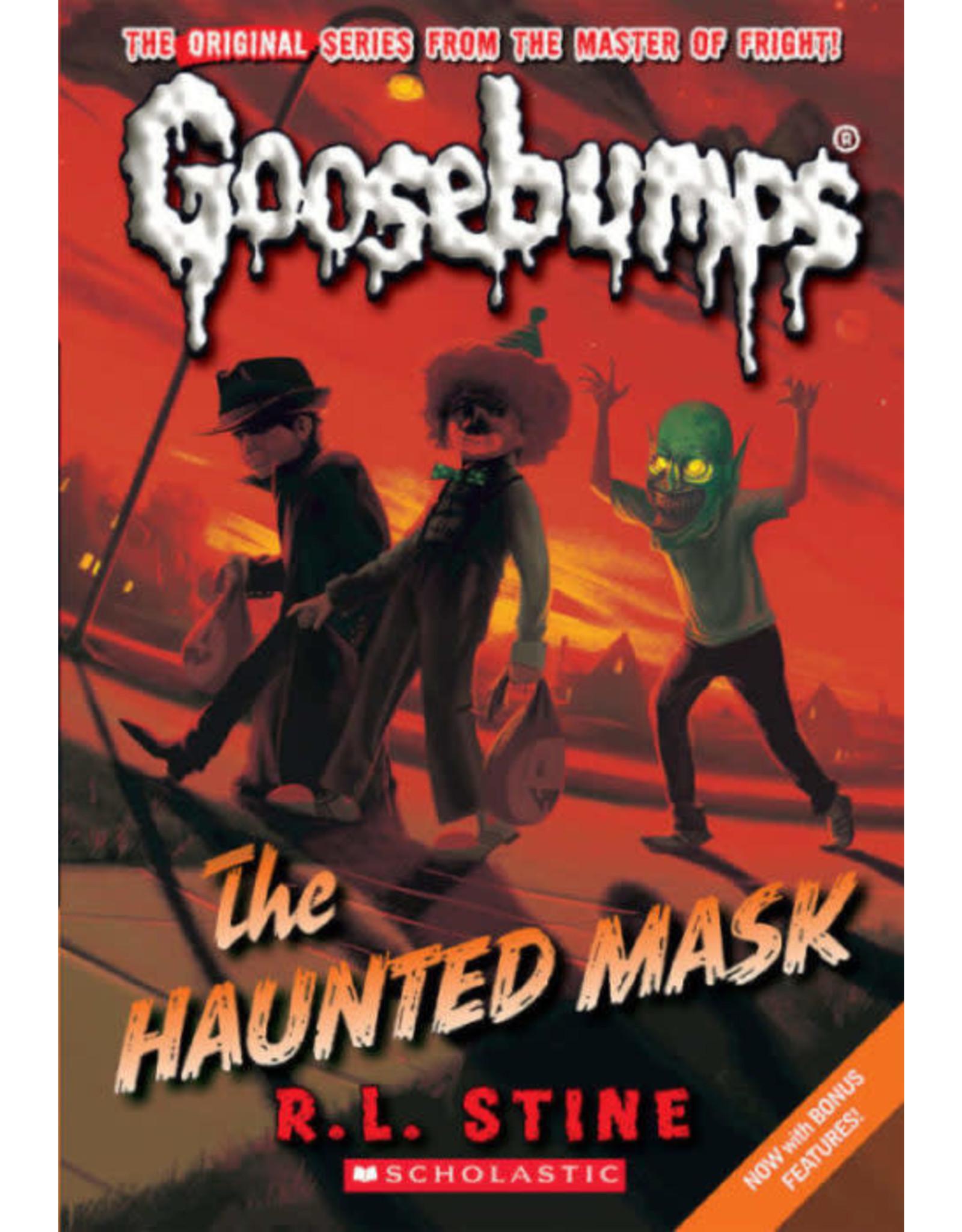 Scholastic Classic Goosebumps #4: The Haunted Mask