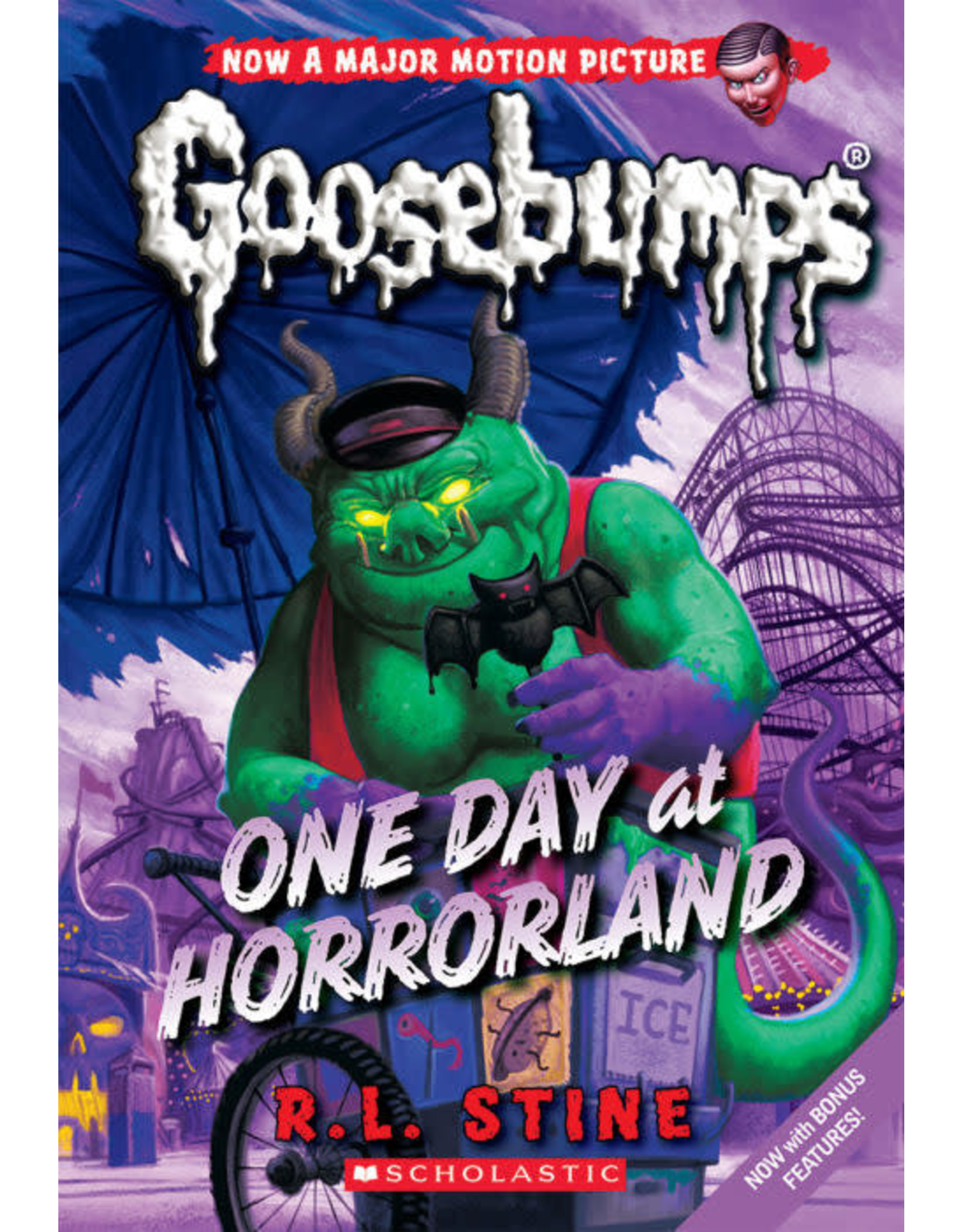 Scholastic Classic Goosebumps #5: One Day at Horrorland