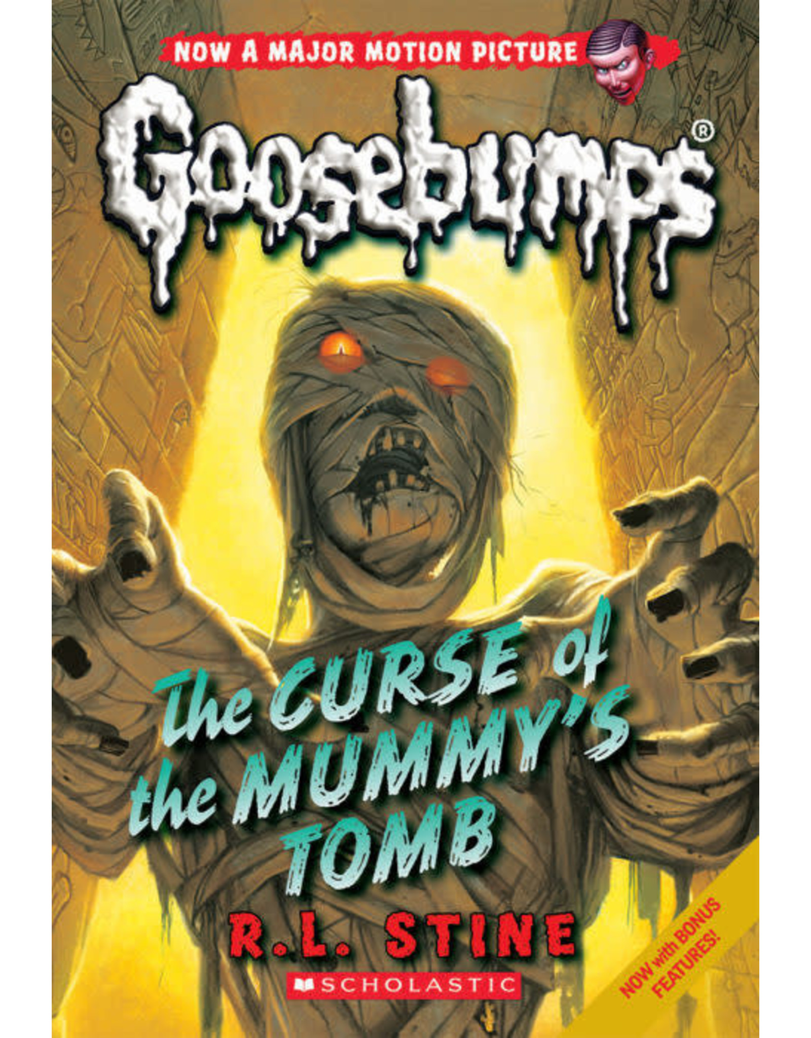 Scholastic Classic Goosebumps #6: The Curse of the Mummy's Tomb