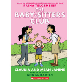 Scholastic The Baby-Sitters Club Graphix: Claudia and Mean Janine