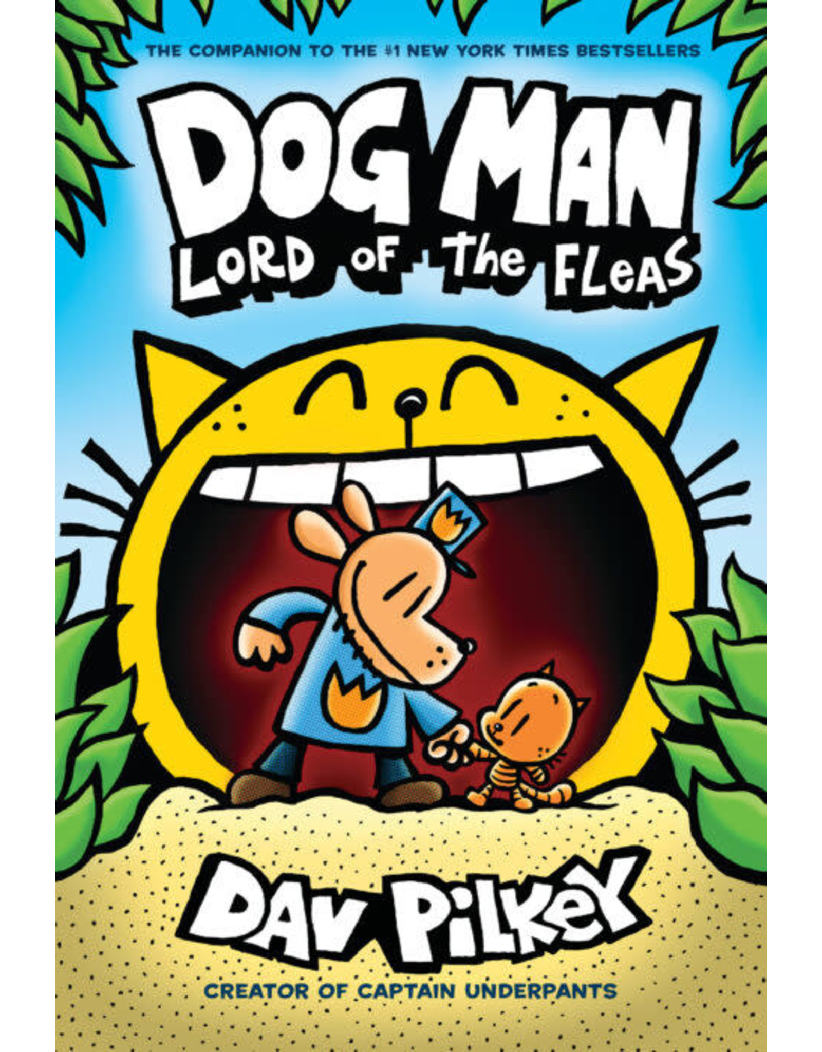 Scholastic Dog Man #5: Lord of the Fleas