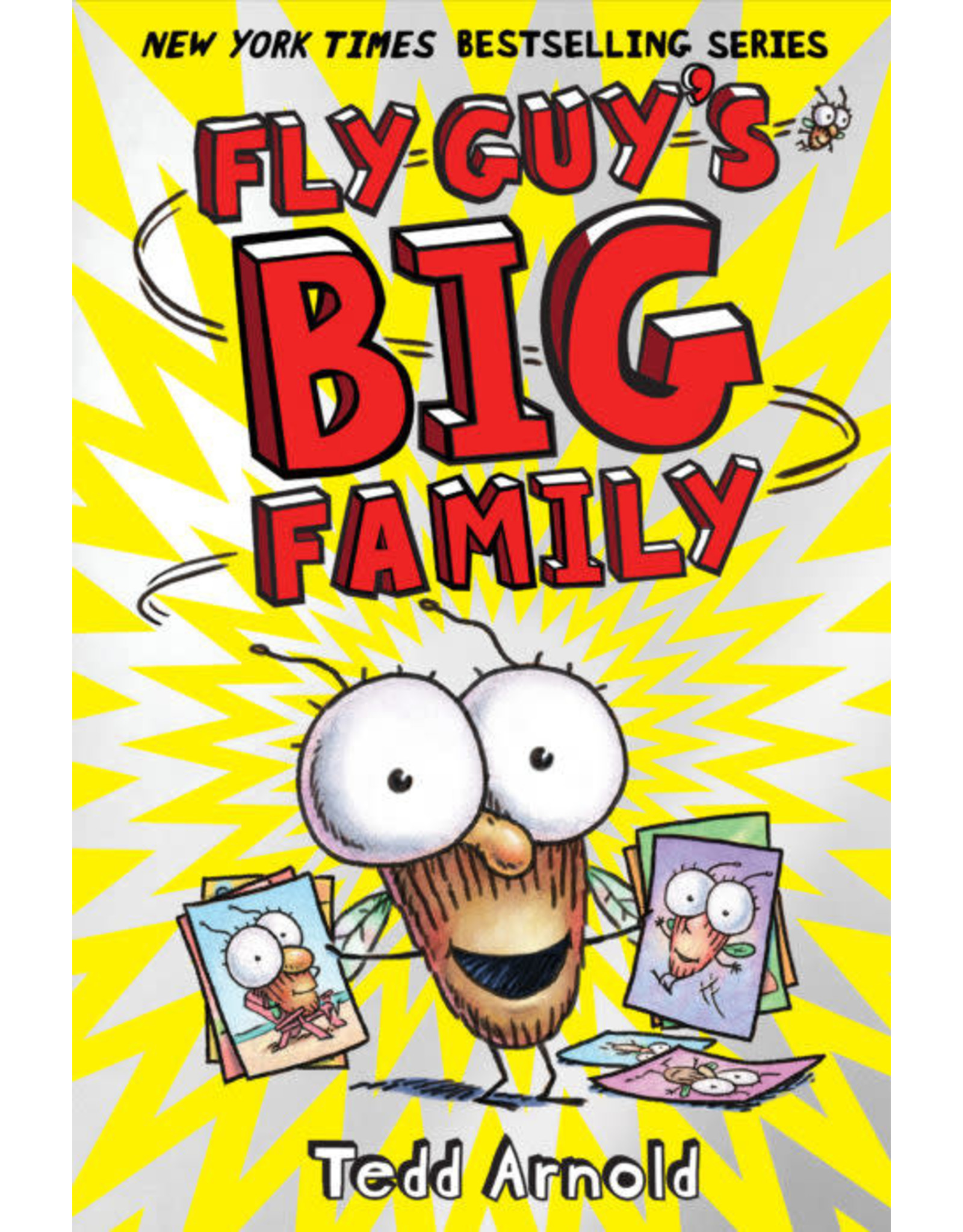 Scholastic Fly Guy #17: Fly Guy's Big Family