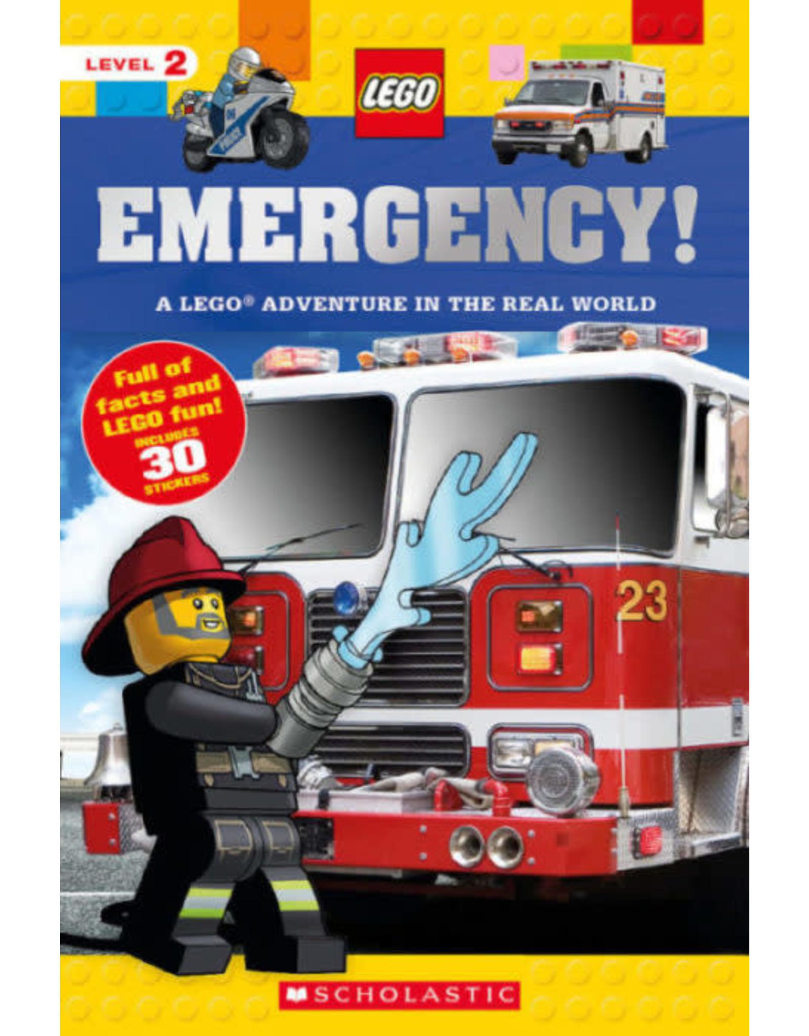 Scholastic LEGO Nonfiction: Emergency!