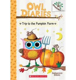 Scholastic Branches-Owl Diaries: Trip to the Pumpkin Farm