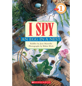 Scholastic Scholastic Reader! Level 1-I Spy: I Spy An Egg in a Nest