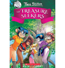 Scholastic Thea Stilton and the Treasure Seekers #1