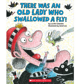 Scholastic There Was an Old Lady Who Swallowed a Fly!