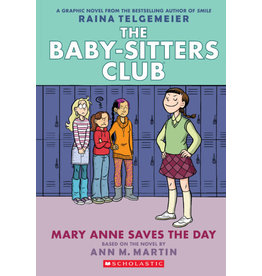 Scholastic The Baby-Sitters Club Graphix #3: Mary Anne Saves the Day