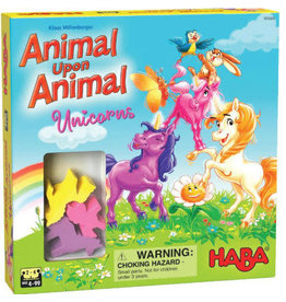 Haba Animal Upon Animal - Unicorns