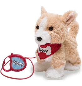 """Cuddle Barn Walking Buddy Tobey 11"""""""