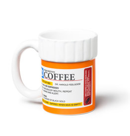 Big Mouth Toys Prescription Pill Bottle Mug