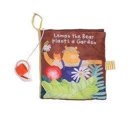 The Manhattan Toy Company Lemon the Bear Plants a Garden Book