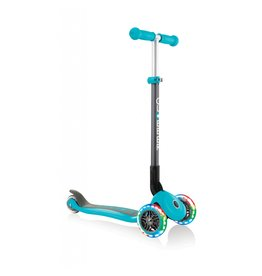 Globber Scooters & Bikes Globber Primo Foldable with Lights - Teal