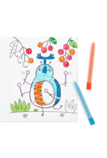 Ooly Coloring Book - Busy Bug Buddies