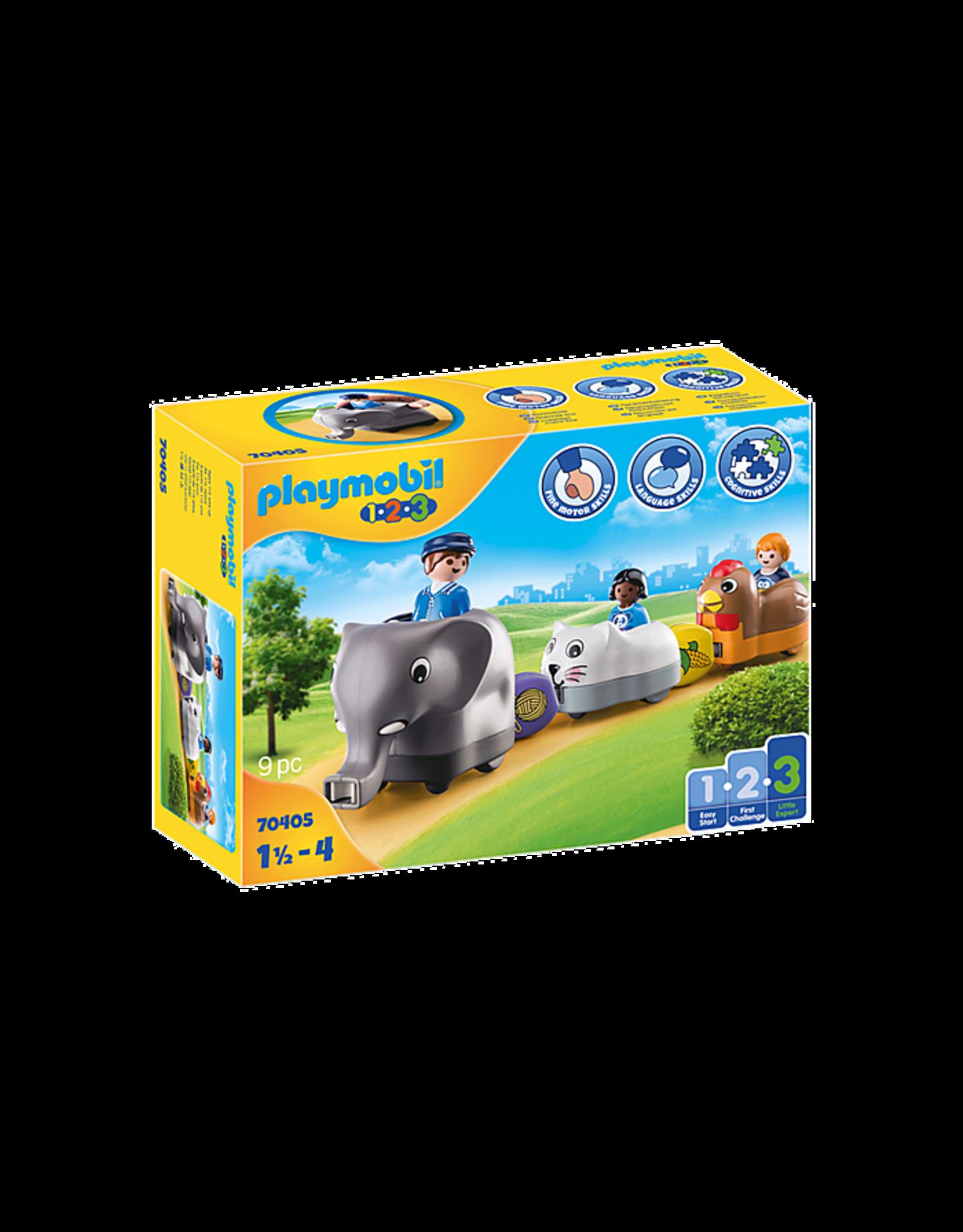 Playmobil Animal Train