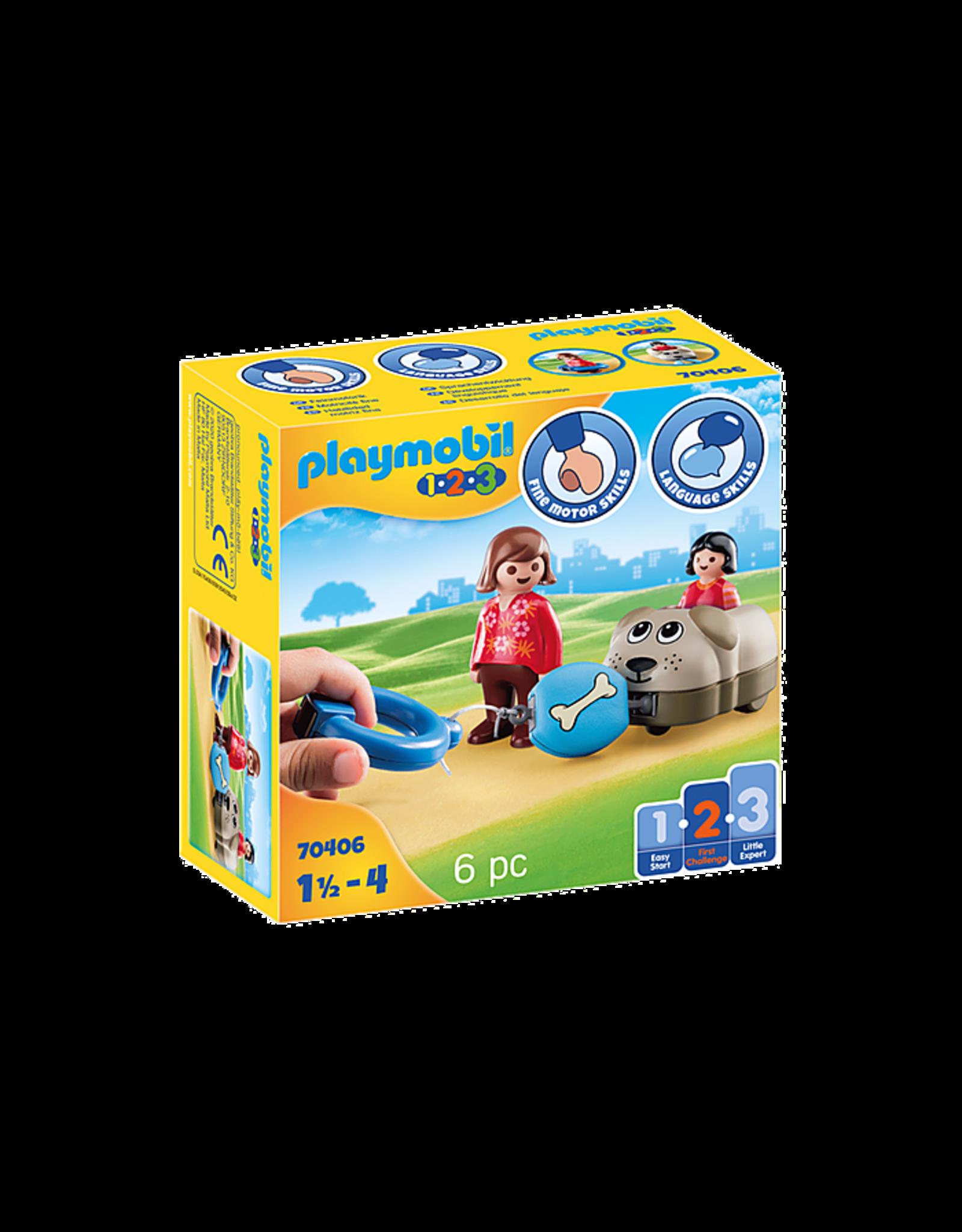 Playmobil Dog Train Car