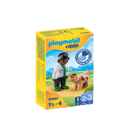 Playmobil Vet with Dog