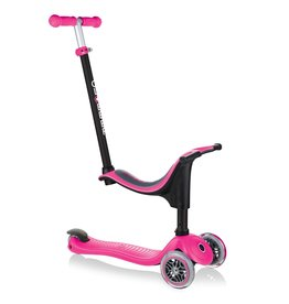 Globber Scooters & Bikes Globber GO-UP 4-in-1 Scooter Sporty - Pink