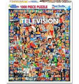 White Mountain Puzzles Television History 1000 pc