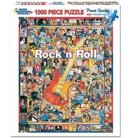 White Mountain Puzzles Rock N Roll 1000 pc
