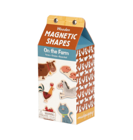 Mudpuppy On the Farm Wooden Magnetic Set