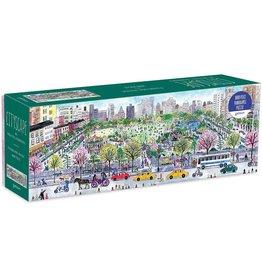 Mudpuppy Michael Storrings Cityscape 1000 pc Panoramic