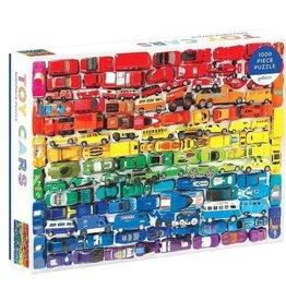 Mudpuppy Rainbow Toy Cars 1000pc