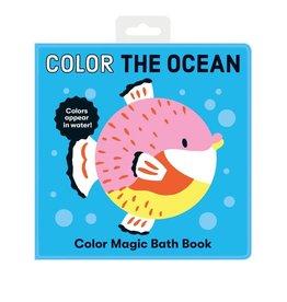 Mudpuppy Color the Ocean Color Magic Bath Book