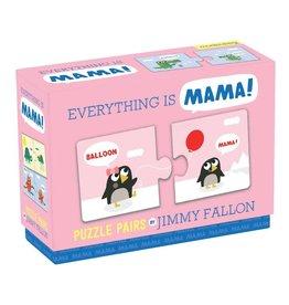Mudpuppy Jimmy Fallon Everything is Mama Puzzle Pairs