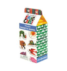 Mudpuppy Eric Carle Shapes Wooden Magnetic Shapes Set