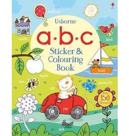 Usborne ABC Sticker and Colouring Book