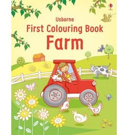 Usborne First Colouring Book Farm