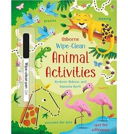 Usborne Wipe Clean Animal Activities