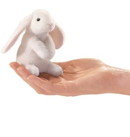 Folkmanis Folkmanis Mini Lop Ear Rabbit Finger Puppet