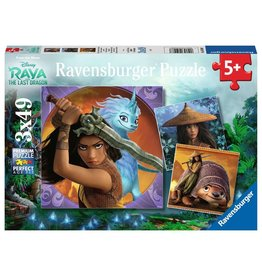 Ravensburger Raya and the Last Dragon 3x49pc