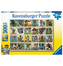 Ravensburger Awesome Athletes 300pc