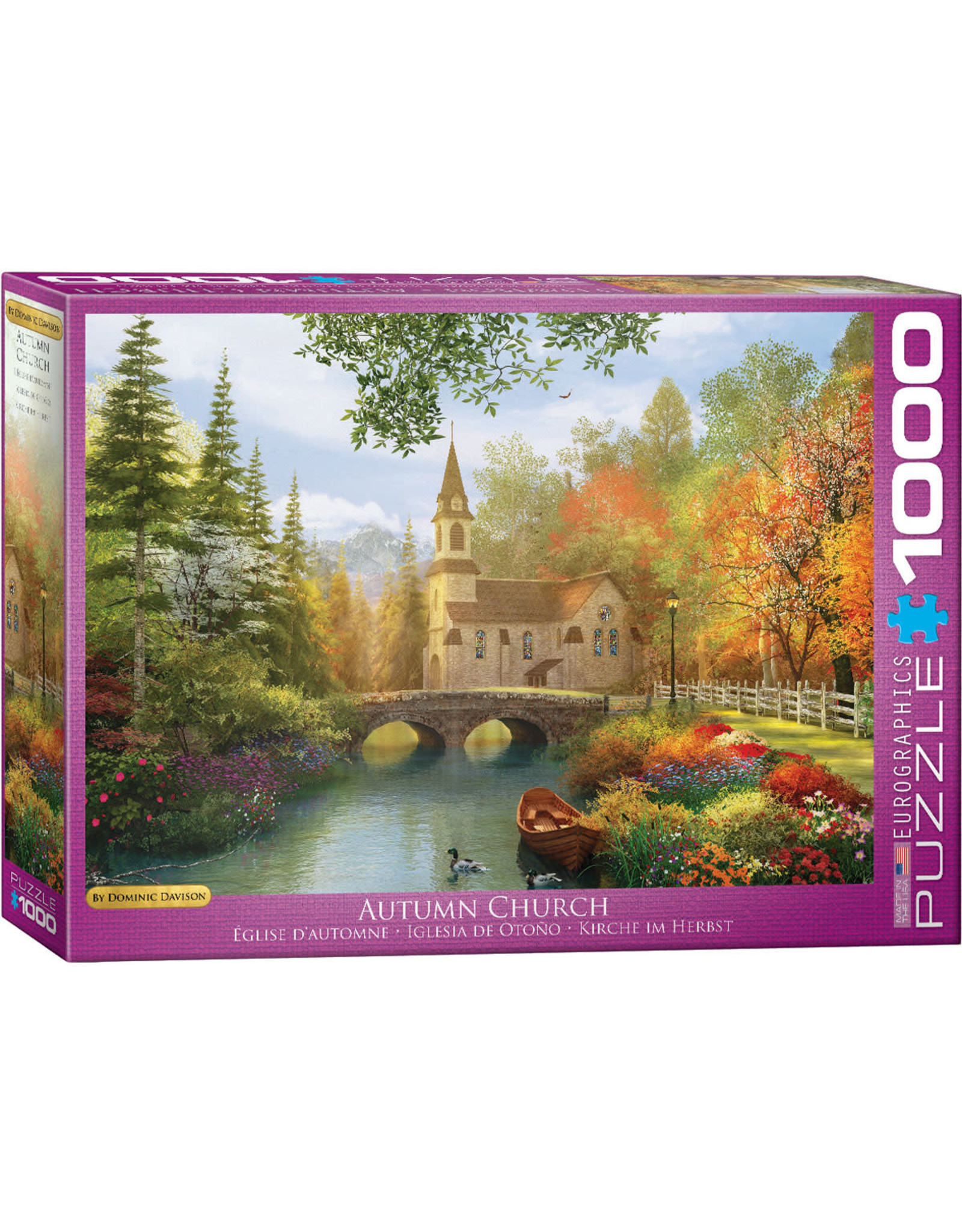 Eurographics Autumn Church 1000 pc