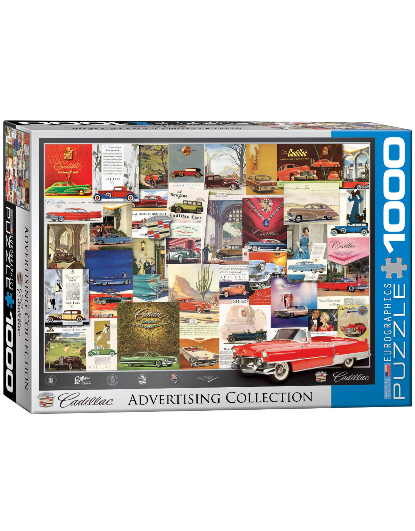 Eurographics Cadillac Advertising Collection 1000 pc