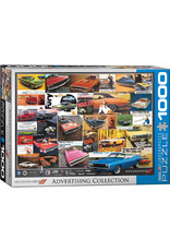 Eurographics Dodge Advertising Collection 1000pc
