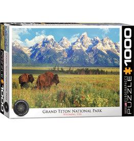 Eurographics Grand Teton National Park 1000 pc