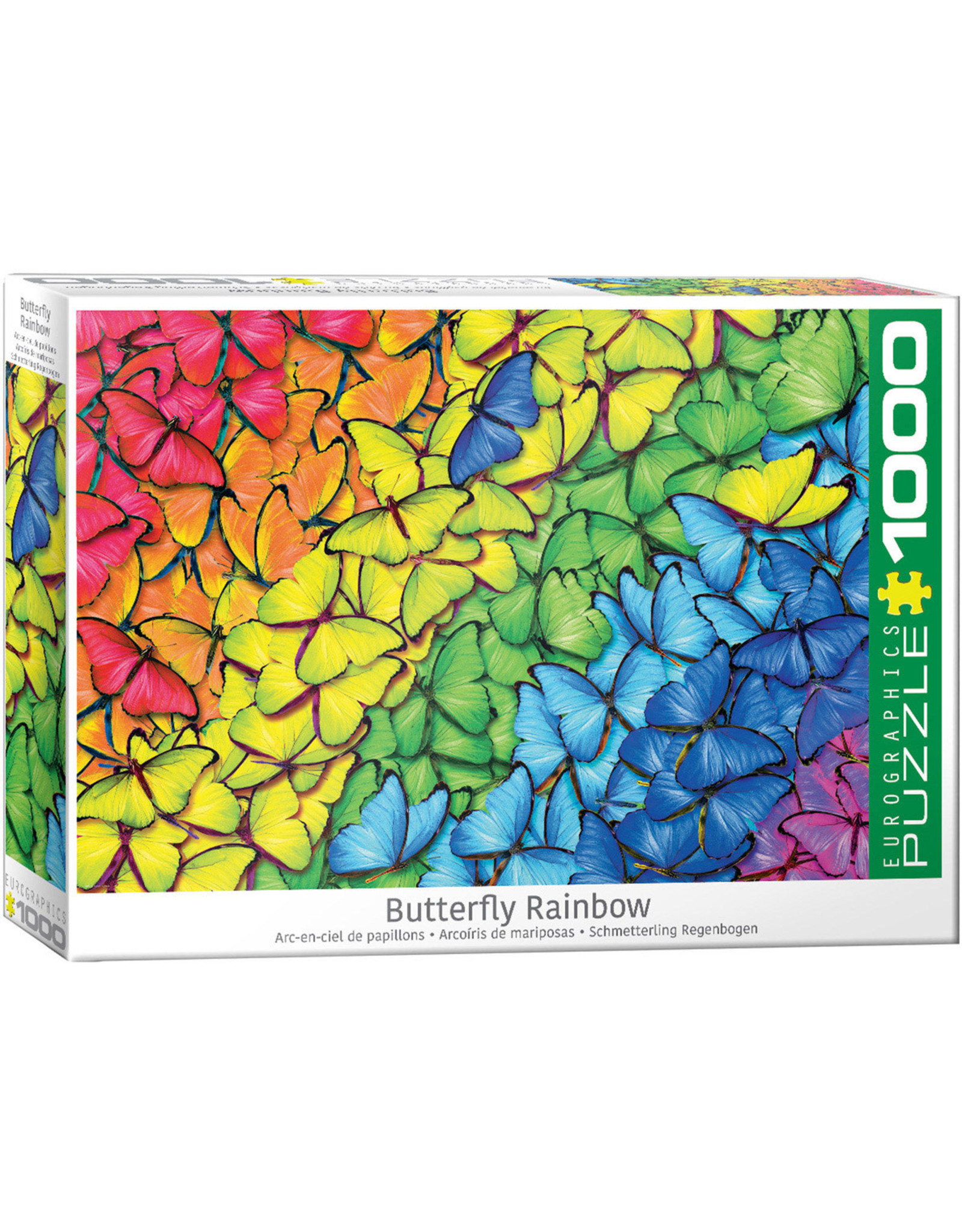 Eurographics Butterfly Rainbow 1000pc