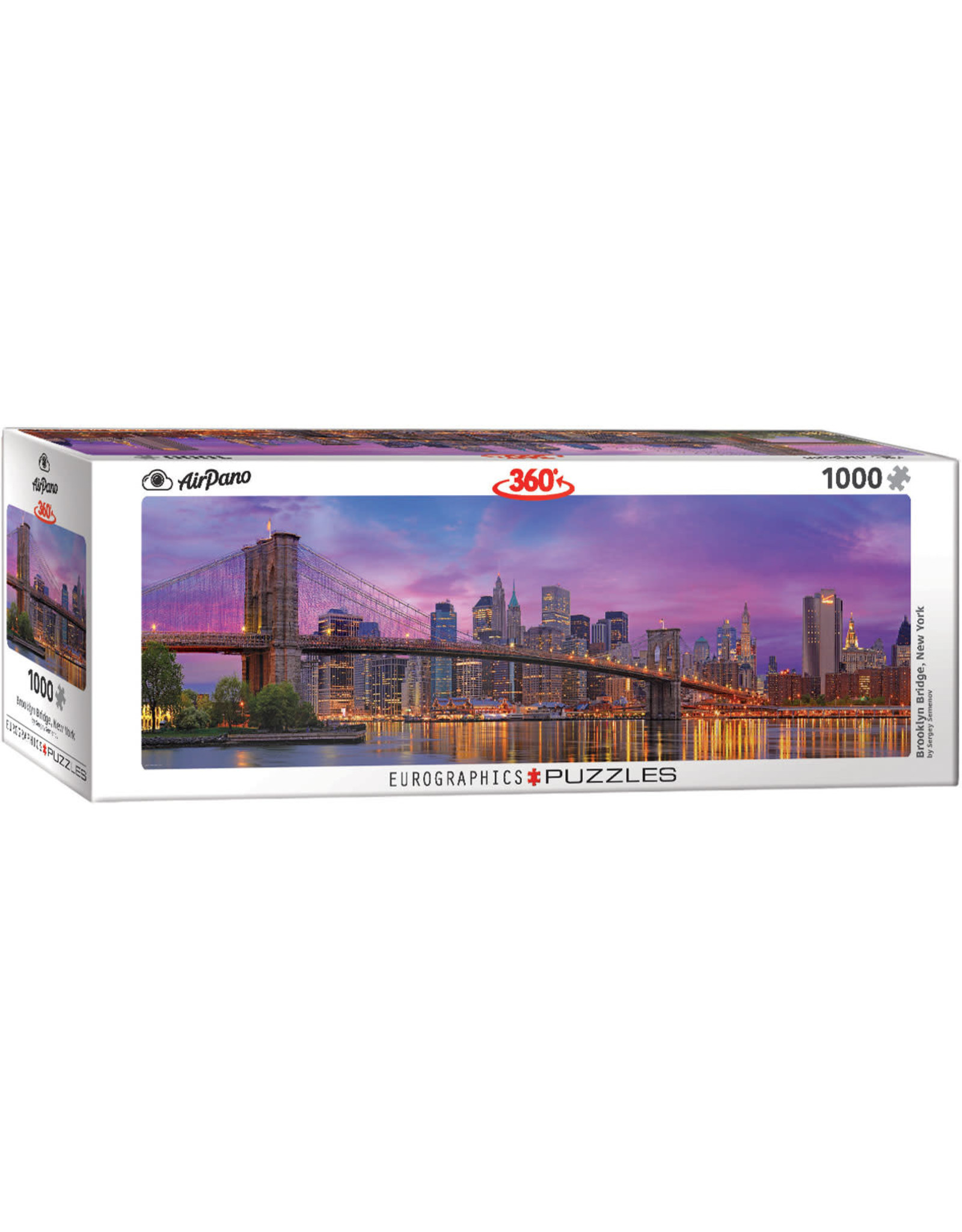 Eurographics Brooklyn Bridge New York 1000 pc Panoramic