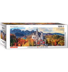 Eurographics Neuschwanstein Castle in Fall 1000 pc Panoramic