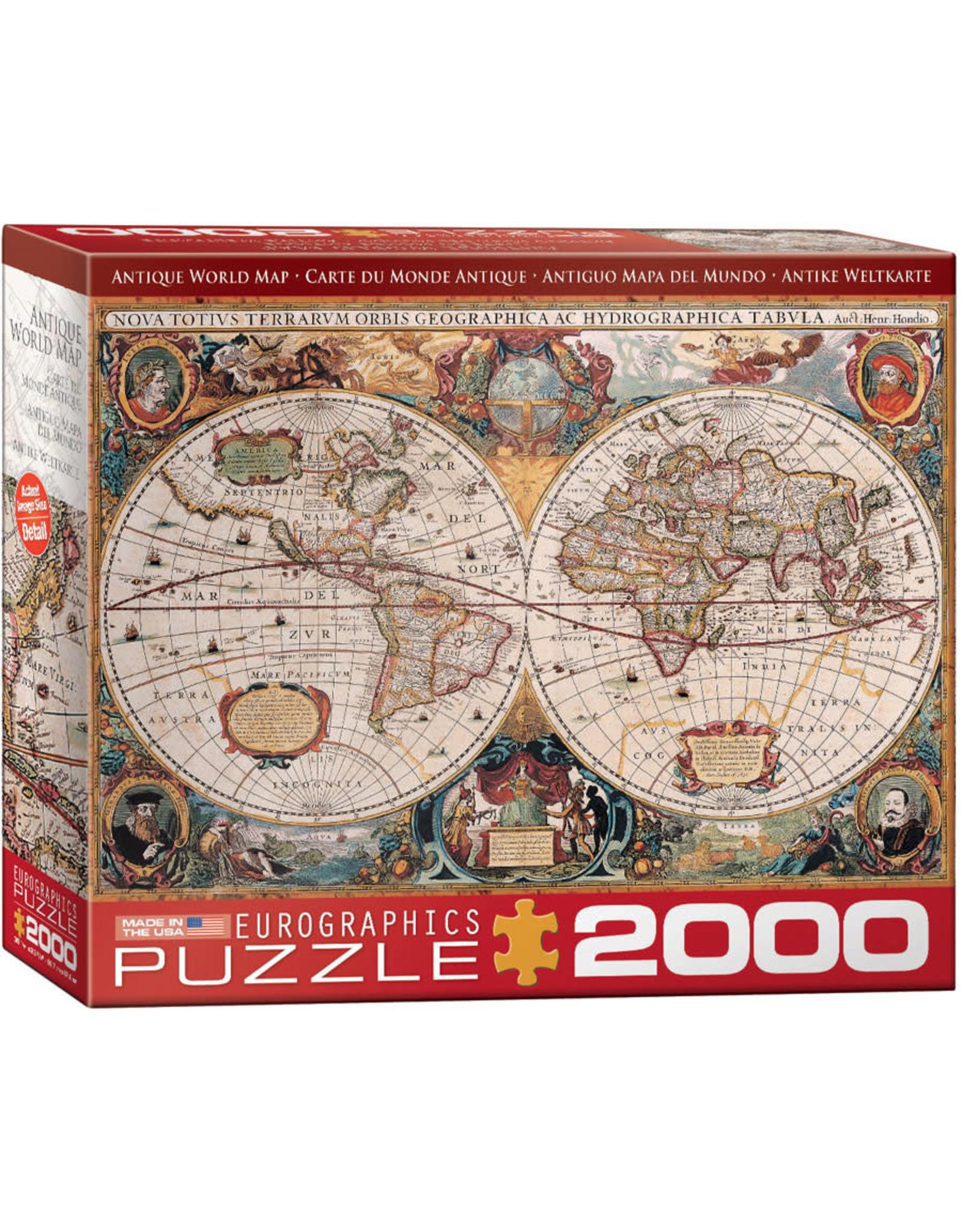 Eurographics Antique World Map 2000pc