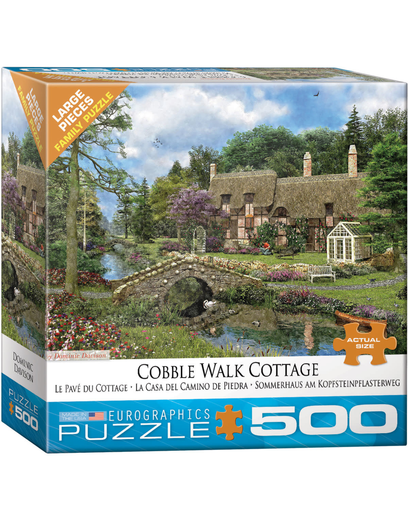 Eurographics Cobble Walk Cottage 500pc