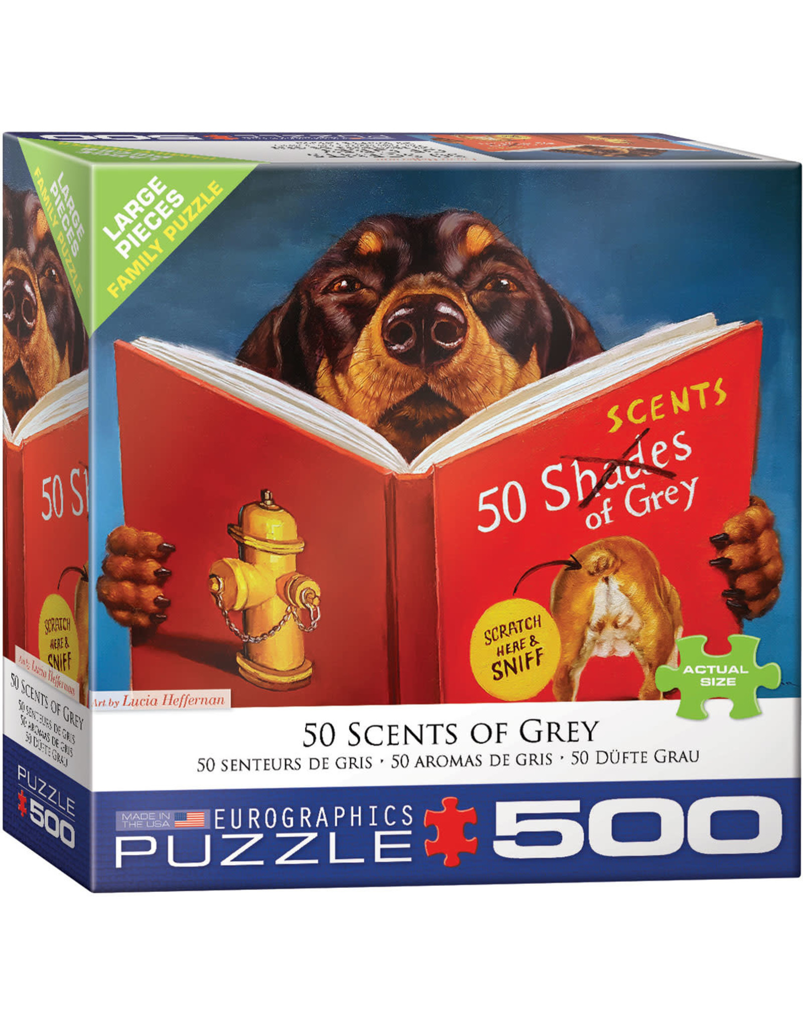 Eurographics 50 Scents of Grey 500pc