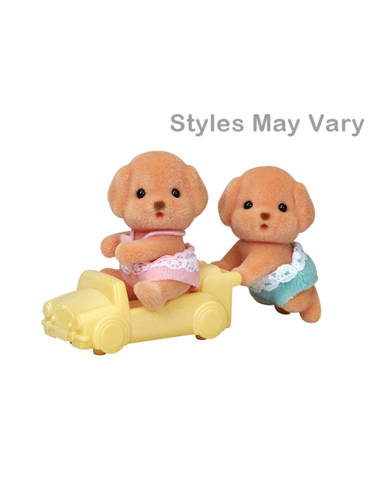 Calico Critters Calico Critters Toy Poodle Twins